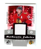 CHICAGO BLACKHAWKS FAVORITE PATRICK SHARP JERSEY CARD in Plainfield, Illinois