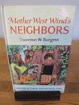 Mother West Wind's Neighbors by Thornton W. Burgess~Vintage in Sugar Grove, Illinois