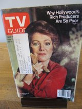 Reduced~TV Guide Lynn Redgrave~June 1980 in Batavia, Illinois