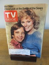 "Reduced~TV Guide Beau Bridges & Helen Shaver ""United States~April 1980 in Chicago, Illinois"