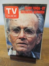 Reduced~TV Guide Henry Fonda by Katharine Hepburn~Jan 1982 in Sandwich, Illinois