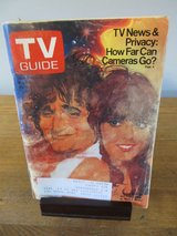 Reduced~TV Guide Robin Williams & Pam Dawber~May 1980 in Chicago, Illinois