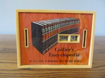 Vintage Collier's Encyclopedia Slot Bank~Reduced in Yorkville, Illinois