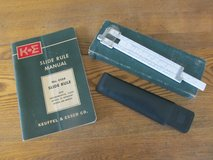 Reduced Again~ Slide Rule~Keuffel & Esser #4168~Vintage in Sandwich, Illinois