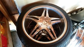 """18"""" Pinnacle  universal  rims and low profile tires in Perry, Georgia"""