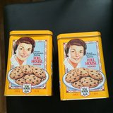 2 Toll House Cookies Canisters in Sugar Grove, Illinois