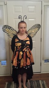 Monarch Butterfly costume in Beaufort, South Carolina