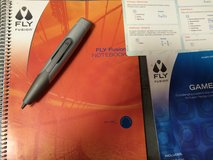 Fly Fusion Notebook and pen in Houston, Texas