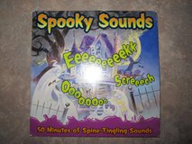 Halloween Scary Spooky Sounds Music CD! in Shorewood, Illinois