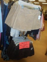 Old Navy corduroy skorts Available in tan & dark brown sizes 1-18 in Chicago, Illinois