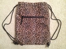 NEW!! Leopard Drawstring Cinch Backpack in Bolingbrook, Illinois