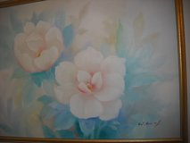 Large Flowers Oil Painting in Chicago, Illinois