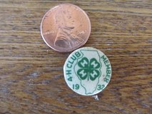 Reduced~4-H Pin 1932~Kendall County IL~Reduced in Chicago, Illinois