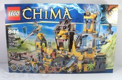 Brand New Complete HUGE Chima Lego Set #70010 the Lion Chi Temple in Spring, Texas