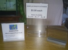 ACRYLIC PHOTO/ DISPLAY STANDS in Aurora, Illinois