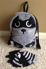 Animal Backpack with Matching Gloves in Joliet, Illinois