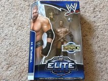 TRIPLE H WWE MATTEL ELITE 28 ACTION FIGURE in Camp Lejeune, North Carolina