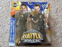 WWE Battle Pack Seth Rollins vs. Dean Ambrose Action Figure, 2-Pack in Camp Lejeune, North Carolina