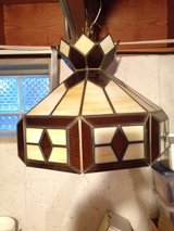 Vintage Tiffany Style Stained Glass Ceiling Light in Joliet, Illinois