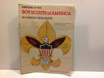 BOY SCOUTS OF AMERICA ( EMBLEMS COUNTED CROSS STITCH ) BOOK in Naperville, Illinois