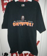Mens Adult Womens XL T-Shirt Halloween Costume I DON'T DO COSTUMES in Kingwood, Texas