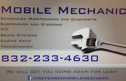 Mobile Mechanic - star rated service! in Houston, Texas