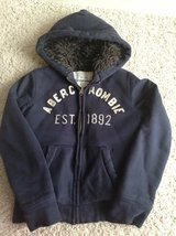 Boys Abercrombie Hoodie with Faux Fur Lining in Chicago, Illinois