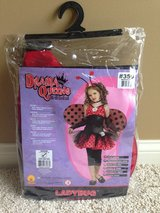 Girls Ladybug Halloween Costume-Med in Joliet, Illinois