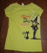 Girls Halloween Casting My Spell On You T-Shirt XL 14/16 Witch & Kitty Cat in Kingwood, Texas