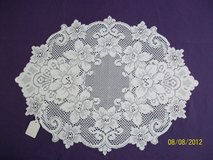 brand new white lace Cleremont placemats & tablerunners in Goldsboro, North Carolina