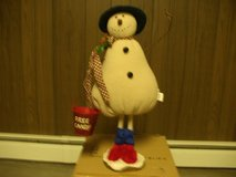 HALLMARK FOLK ART SNOWMAN in Morris, Illinois