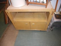 Mid-century Modern DROP-LEAF SERVER Bar Cabinet in Naperville, Illinois