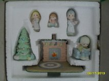 CLEARANCE Reflections Precious Moments Miniature Pewter Family Christmas Scene in Oswego, Illinois