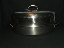 Vintage Carlton Ware Commercial Stainless Steel Roasting Pan in Chicago, Illinois