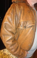 Mens Leather Jacket - NICE!  large / XL in Baytown, Texas