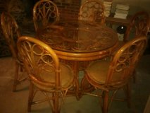 Bamboo dining room table in Fort Knox, Kentucky
