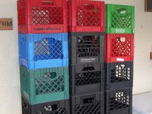 milk crates in Camp Lejeune, North Carolina