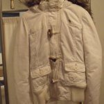 ***Ladies White Abercrombie Jacket***VERY Cute**SZ SMALL in The Woodlands, Texas