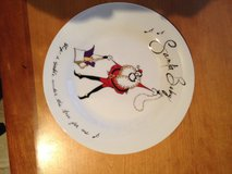 christmas plates and mugs, santa baby pottery barn in Heidelberg, GE