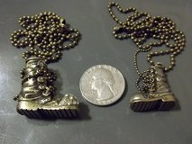 His/ Her Military Boot Necklaces in 29 Palms, California