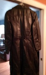 full lengh woman's leather jacket with liner in Beaufort, South Carolina