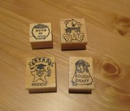 Rubber Ink Stamps (NEW) in Bolingbrook, Illinois