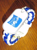 Duke Dog Tag Paracord Bracelet in Quantico, Virginia