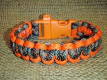 Paracord Survival Bracelet with Whistle Buckle in Quantico, Virginia