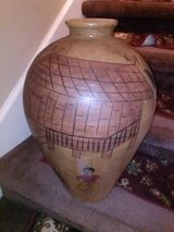 Hand Painted Thailand Floor Vase in Fort Campbell, Kentucky