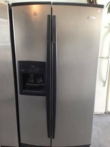 Stainless Steel Whirlpool Gold Refrigerator in Camp Pendleton, California