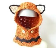 Crochet Hooded Fox Cowl - Toddler to Adult Sizes in Tacoma, Washington