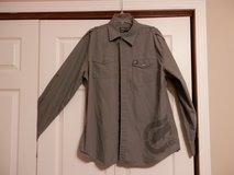 Mens Grey Long Sleeve ECKO Shirt in Fort Riley, Kansas