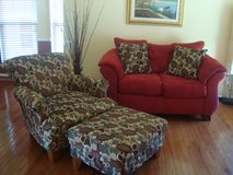 Loveseat and Accent Chair w/ ottoman in Fairfax, Virginia