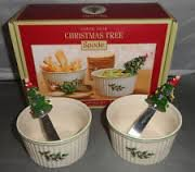 Spode Christmas Tree Dipping Set - 4 piece in Montezuma, Georgia